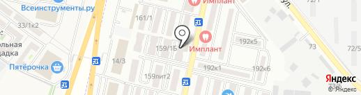 Магнит-косметик на карте Яблоновского