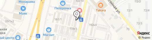 Ателье на карте Яблоновского