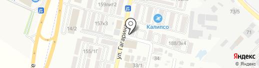 Санги Стиль на карте Яблоновского