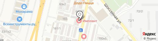 Имплант на карте Яблоновского