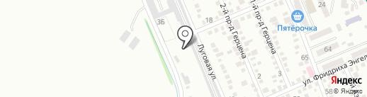 Умный пес на карте Яблоновского