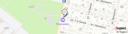 Академия повышения квалификации при экологическом объединении, АНО ДПО на карте Краснодара