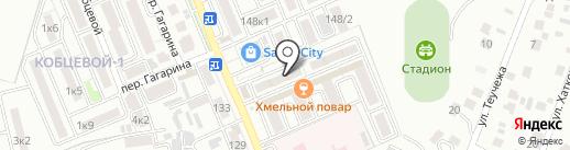 Фотопринт на карте Яблоновского