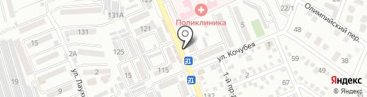 Табачная лавка на карте Яблоновского