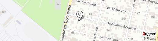 Производственная фирма на карте Краснодара
