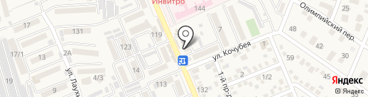 Славянский на карте Яблоновского