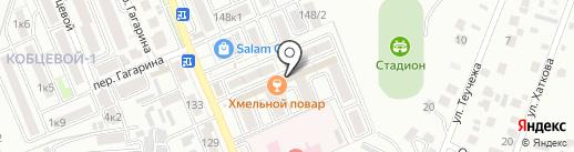 Звёздный на карте Яблоновского