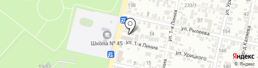 Земля и жизнь на карте Краснодара