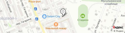 Нарт на карте Яблоновского