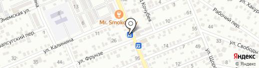 Страховая компания на карте Яблоновского