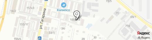 Жемчужный на карте Яблоновского