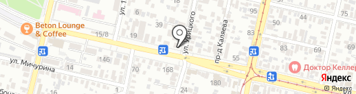 Kids` Planet на карте Краснодара