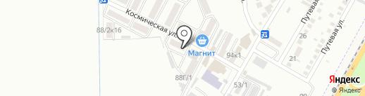 ТЭА на карте Яблоновского