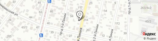 Джи Сервис Авто на карте Краснодара