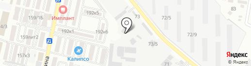 Экспресс-Кубань на карте Яблоновского