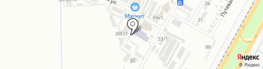 Smart Car на карте Яблоновского