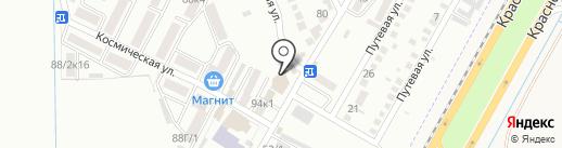 Пятёрочка на карте Яблоновского