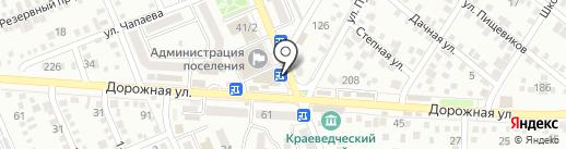 Вкуснолюбов на карте Яблоновского