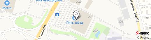 Perrino на карте Краснодара