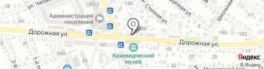 ШанЖан на карте Яблоновского