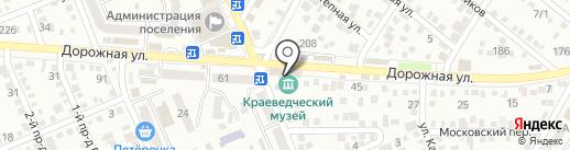 Черный на карте Яблоновского