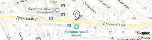 Золотая арка на карте Яблоновского