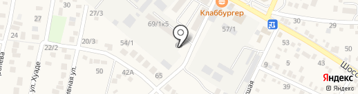 Строймонтаж-2 на карте Яблоновского