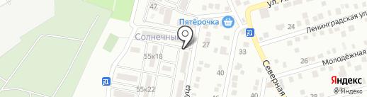 Веб-студия Дмитрия Соловьева на карте Яблоновского