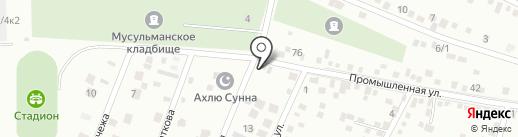 Форвард Мобайл на карте Яблоновского