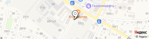 Шале Двор на карте Яблоновского