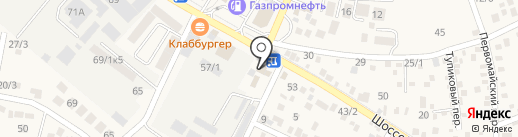 Пирамида-Пласт на карте Яблоновского