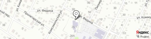 Дом на карте Яблоновского
