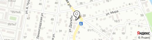 Ипотечный брокер на карте Яблоновского