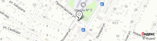Светлана на карте Яблоновского