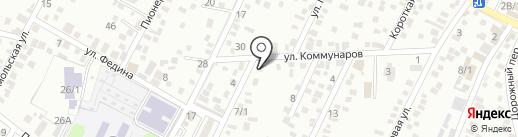Восточно-Турецкий Гипс Маркетинг на карте Яблоновского