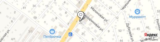 Чик-Чик на карте Перекатного
