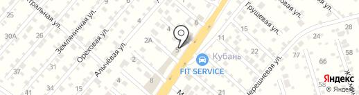 Древлюкс на карте Перекатного