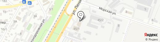 АС-ПРОЕКТСТРОЙ на карте Яблоновского