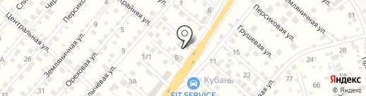 ESTET на карте Перекатного