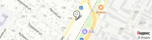Сармат на карте Яблоновского