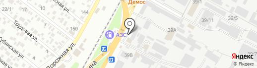 Горянка на карте Яблоновского