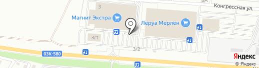 ЗдравСити на карте Краснодара