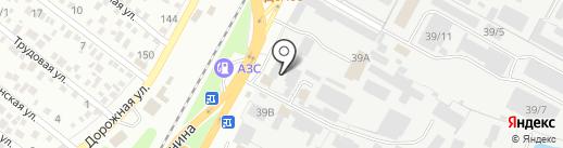 Sun Studio на карте Яблоновского