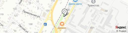 ДЕПО-авто на карте Яблоновского