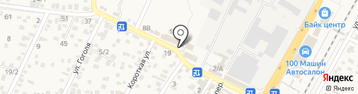 Аврора на карте Яблоновского