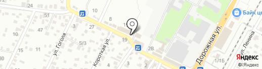 ТЭФИ на карте Яблоновского