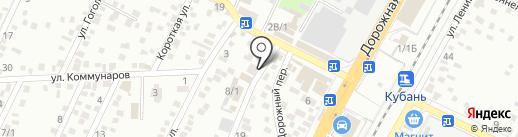 Золотая лавка на карте Яблоновского