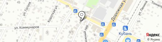 Майра на карте Яблоновского