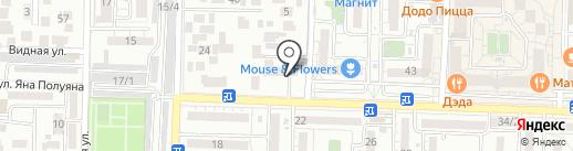Gym Master на карте Краснодара