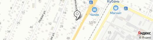 Айболит на карте Яблоновского